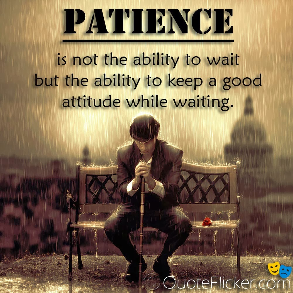 THE VIRTUE OFPATIENCE